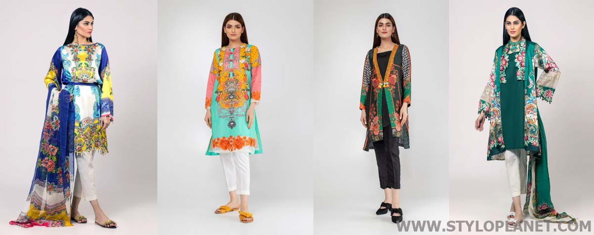 99c50c874e Khaadi Latest Ready To Wear Summer Lawn Collection for Women 2019-2020