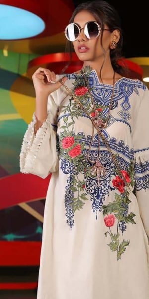 Sana Safinaz Latest Ready To Wear Summer Dresses Collection 2019 (10)