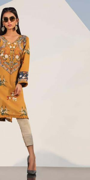 Sana Safinaz Latest Ready To Wear Summer Dresses Collection 2019 (2)