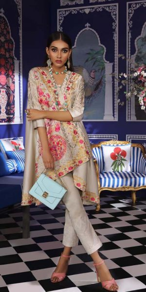 Sana Safinaz Latest Ready To Wear Summer Dresses Collection 2019 (6)
