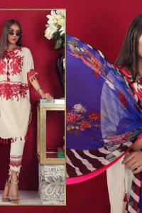 Sana Safinaz Latest Unstitch & Ready To Wear Summer Dresses Collection 2019 (3)