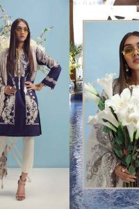 Sana Safinaz Latest Unstitch & Ready To Wear Summer Dresses Collection 2019 (8)