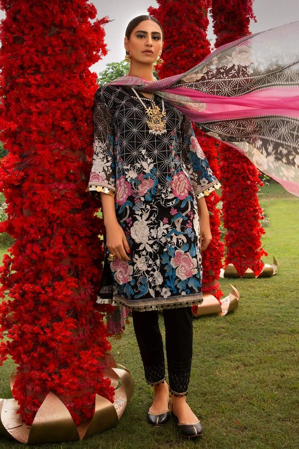 Khaadi Latest Summer Embroidered Eid collection 2020