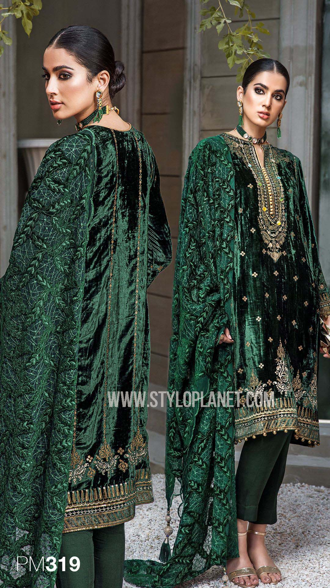 Gul Ahmed Latest Winter Dresses For Women 2020