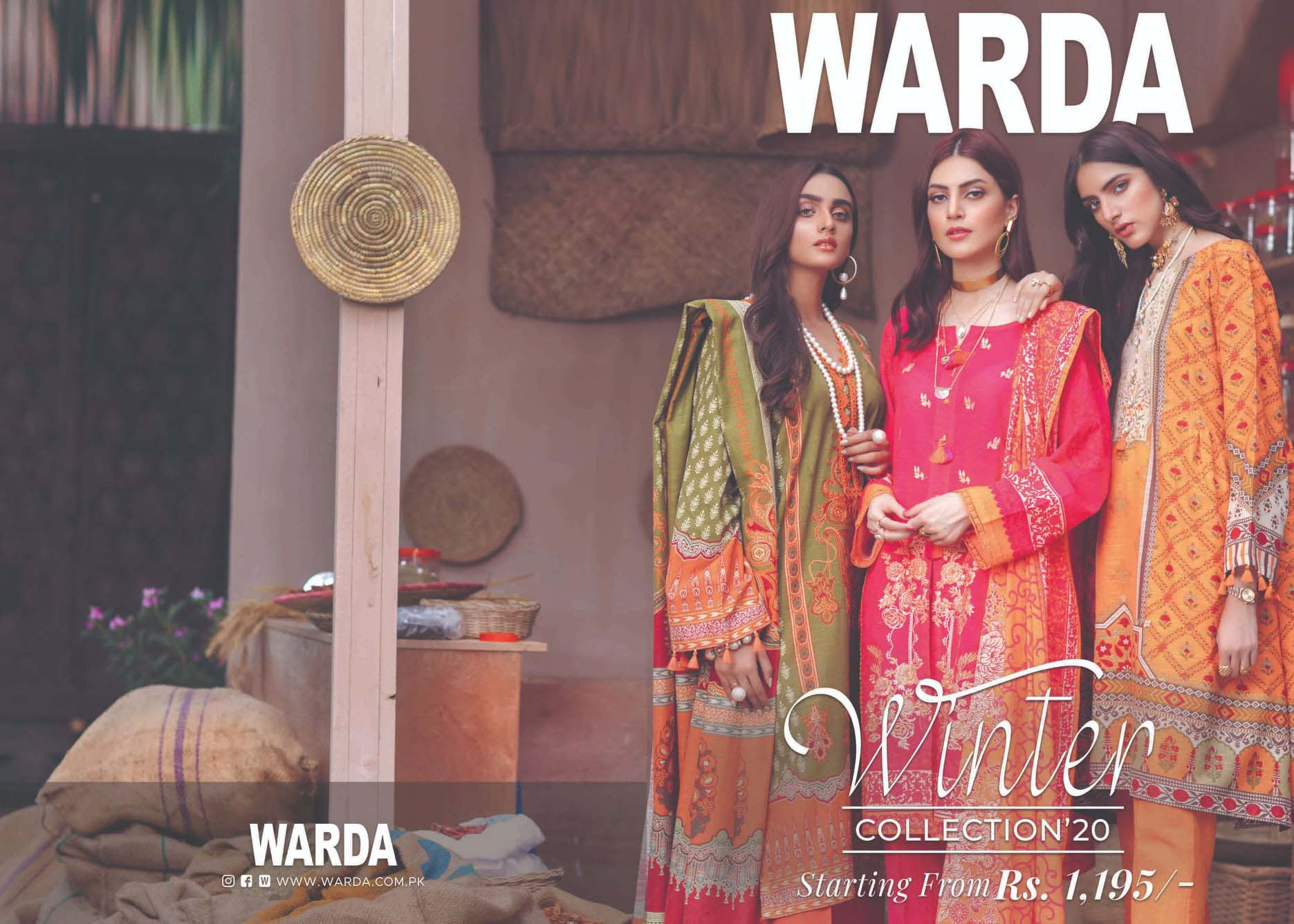 Warda Designers Latest Unstitch and Pret Dresses 2020