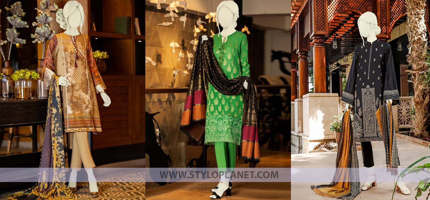 Junaid Jamshed Latest Winter Khaddar Dresses Collection 2020