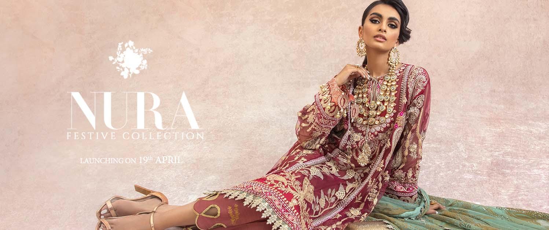 Sana Safinaz Latest Muzlin And Nura Eid Collection 2021