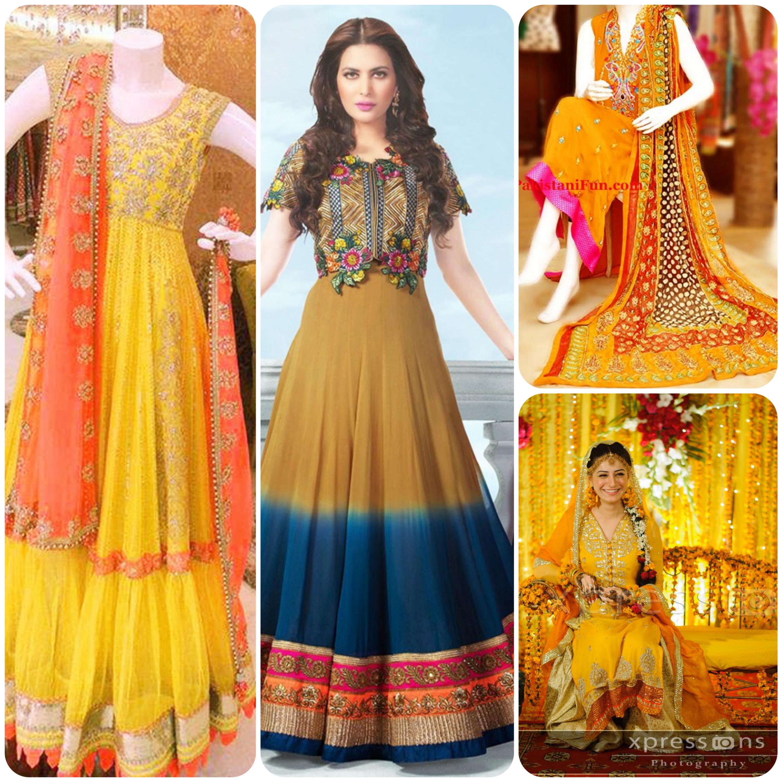 d7151a683e latest bridal mehndi dresses 14 styloplanet .com | Stylo Planet