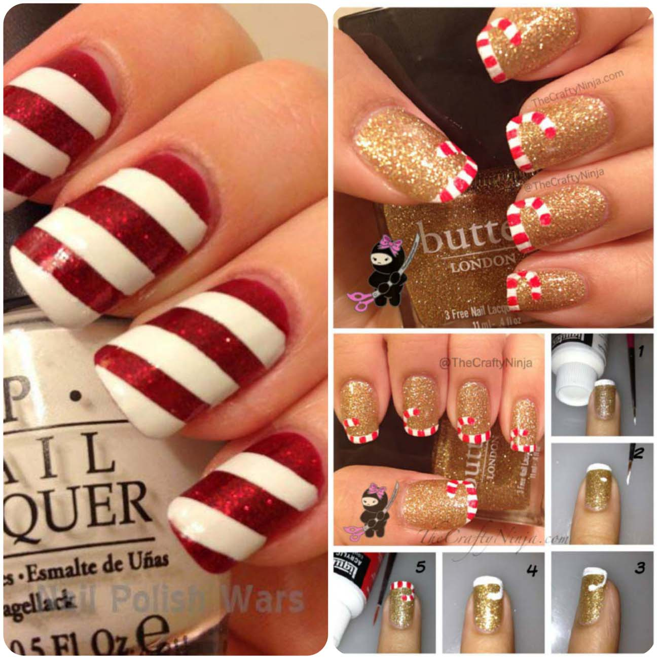 Charistmas Winter Nail art designs (10)_Fotor_Collage