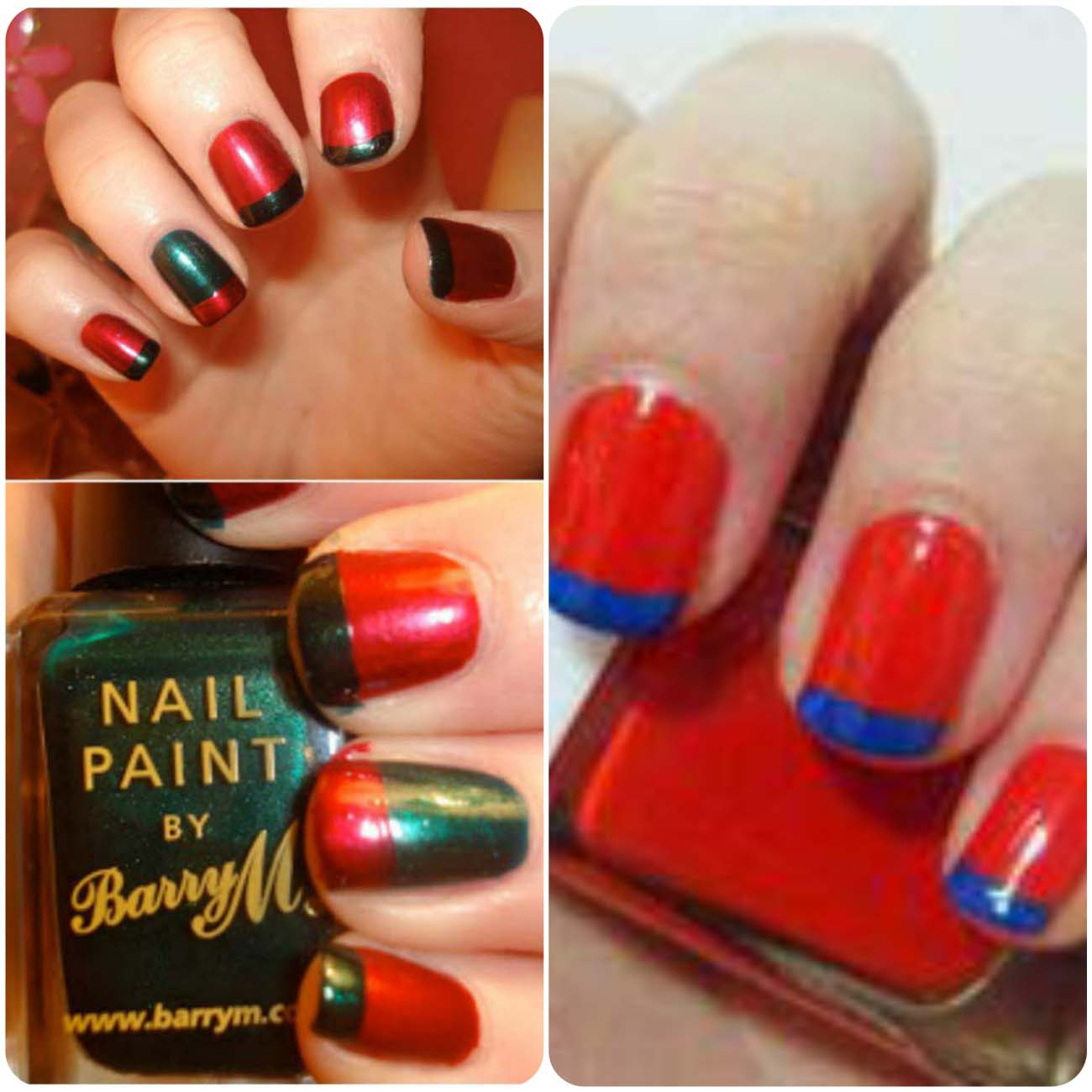 Charistmas Winter Nail art designs (27)_Fotor_Collage