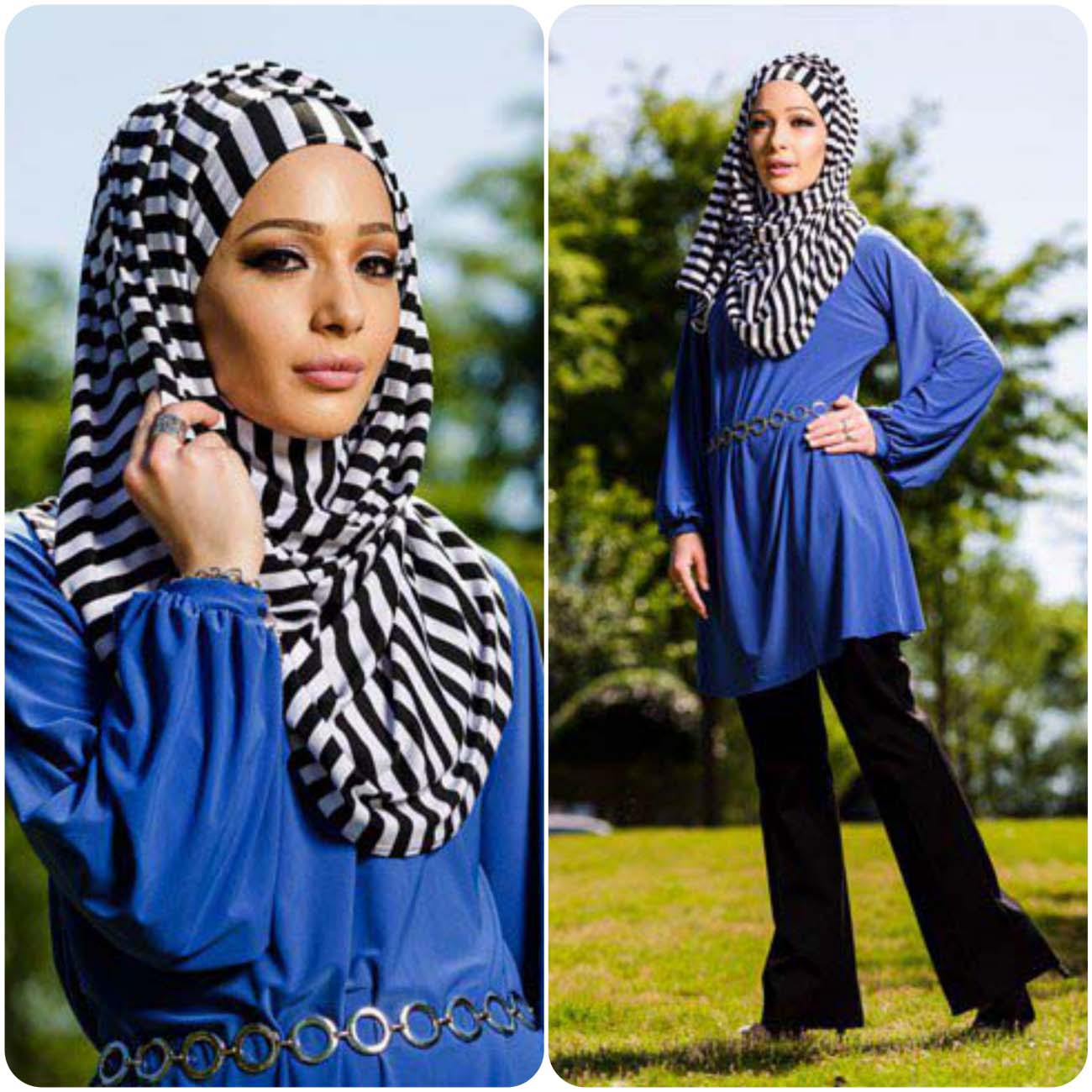 Hijaba and abayas for Muslim girls