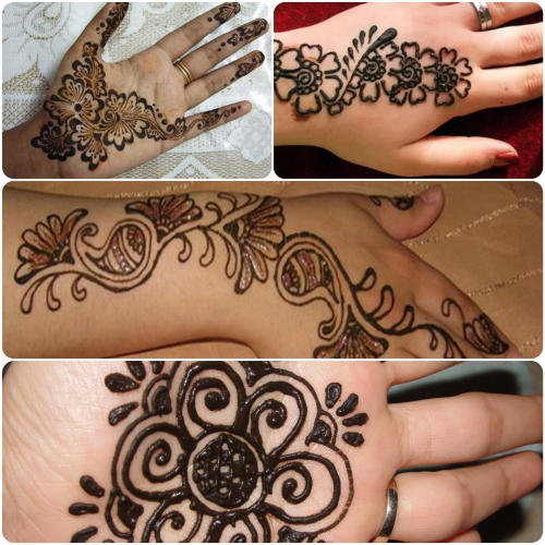Easy Amp Clean New Heena Meahndi Plain Designs For Beginners