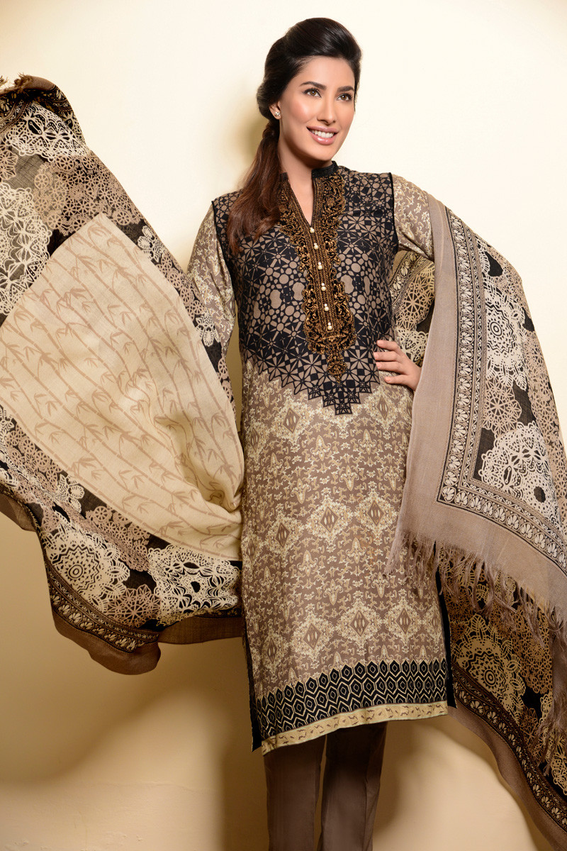 2fac734d20 Winter Gul Ahmed Silk Merino Collection 2015 | Stylo Planet