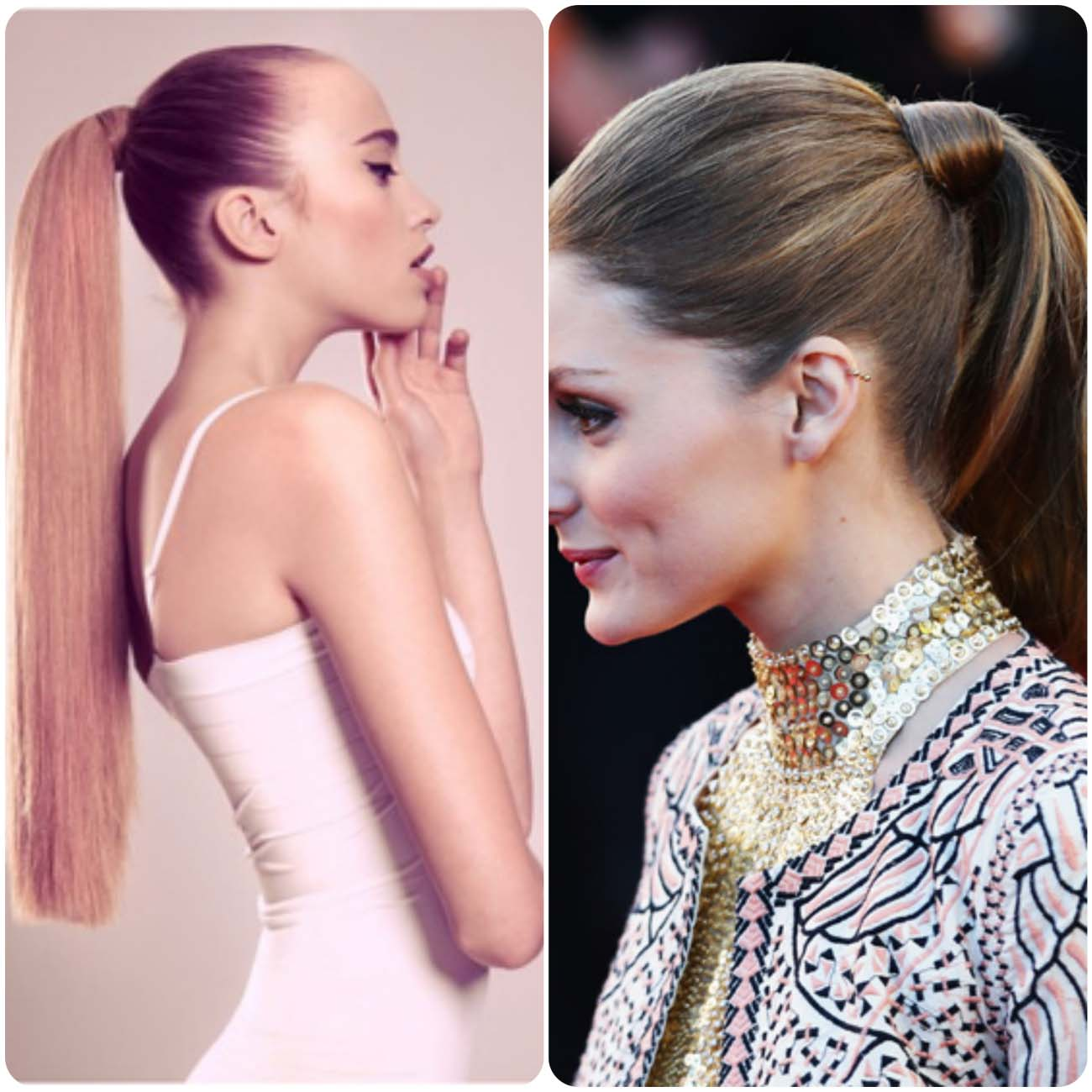 winter hairstyles ponytail...styloplanet.com