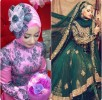 Latest Bridal Hijab Dresses Designs & Styles Collection 2016-2017…styloplanet (13)