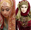 Latest Bridal Hijab Dresses Designs & Styles Collection 2016-2017…styloplanet (20)