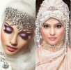 Latest Bridal Hijab Dresses Designs & Styles Collection 2016-2017…styloplanet (23)