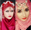 Latest Bridal Hijab Dresses Designs & Styles Collection 2016-2017…styloplanet (25)