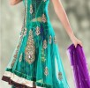 Latest jacket with flared lehnega choli dresses…. styloplanet (3)