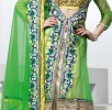 Latest jacket with flared lehnega choli dresses…. styloplanet (6)
