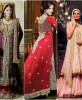 Pakistani Bridal Lehenga Dresses Designs Collection 2016-2017…styloplanet (18)