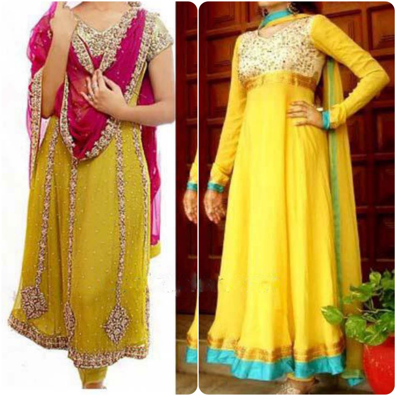 Mehndi Dresses 2016 : Mehendi dresses for asian brides stylo planet