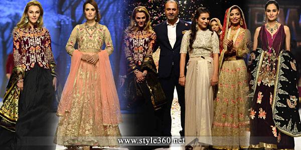 Deepak perwani Wedding Dresses Collection Fo Women 2016-2017