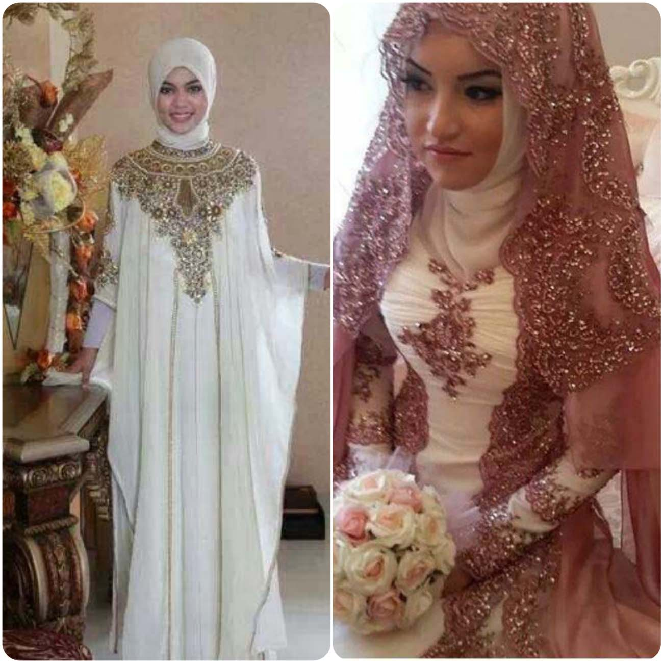 Designers Abaya Dresses Designs For Wedding Bridals 2016-2017...styloplanet (16)