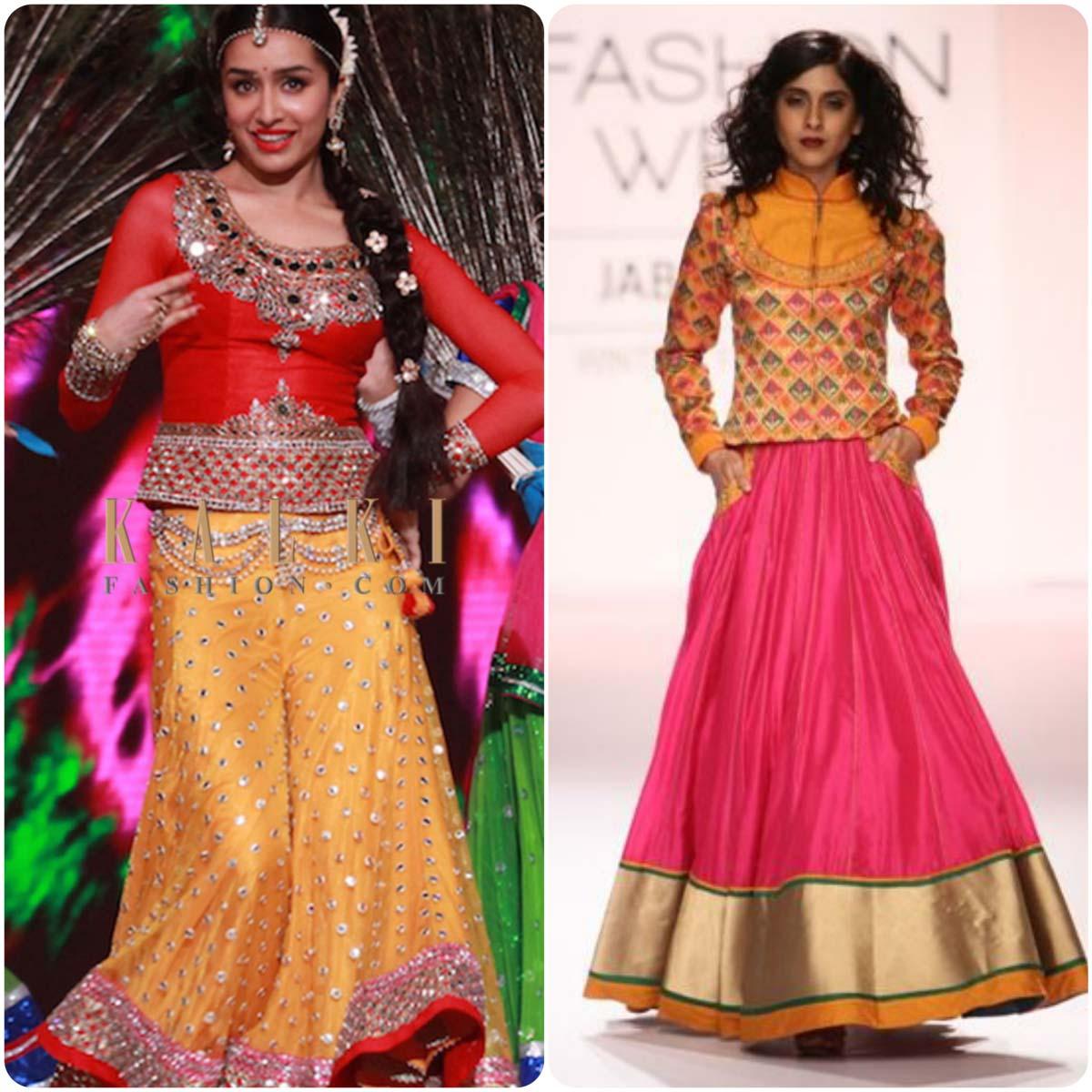 Indian Ghagra Choli Designs (2)