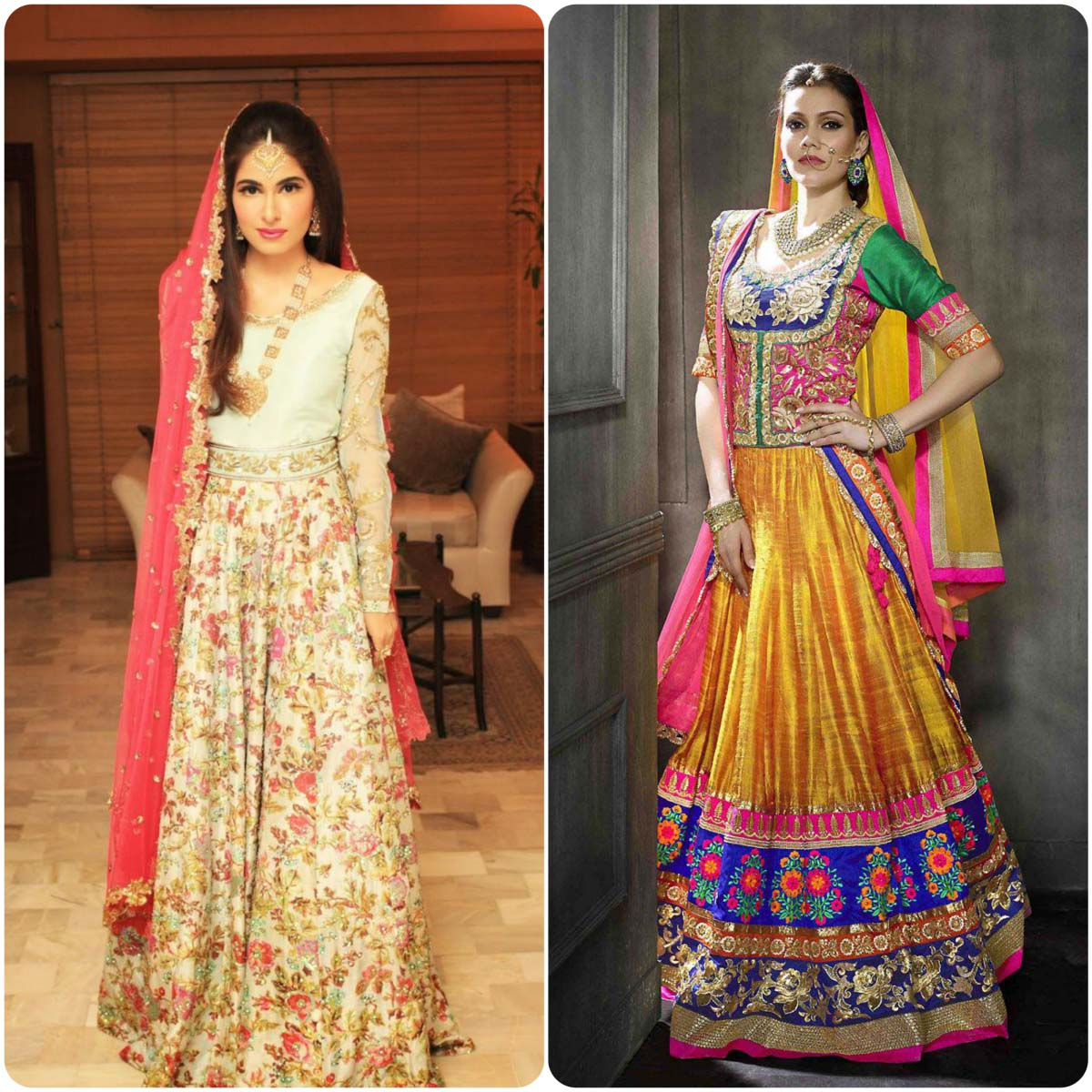 Indian Ghagra Choli Designs (3)