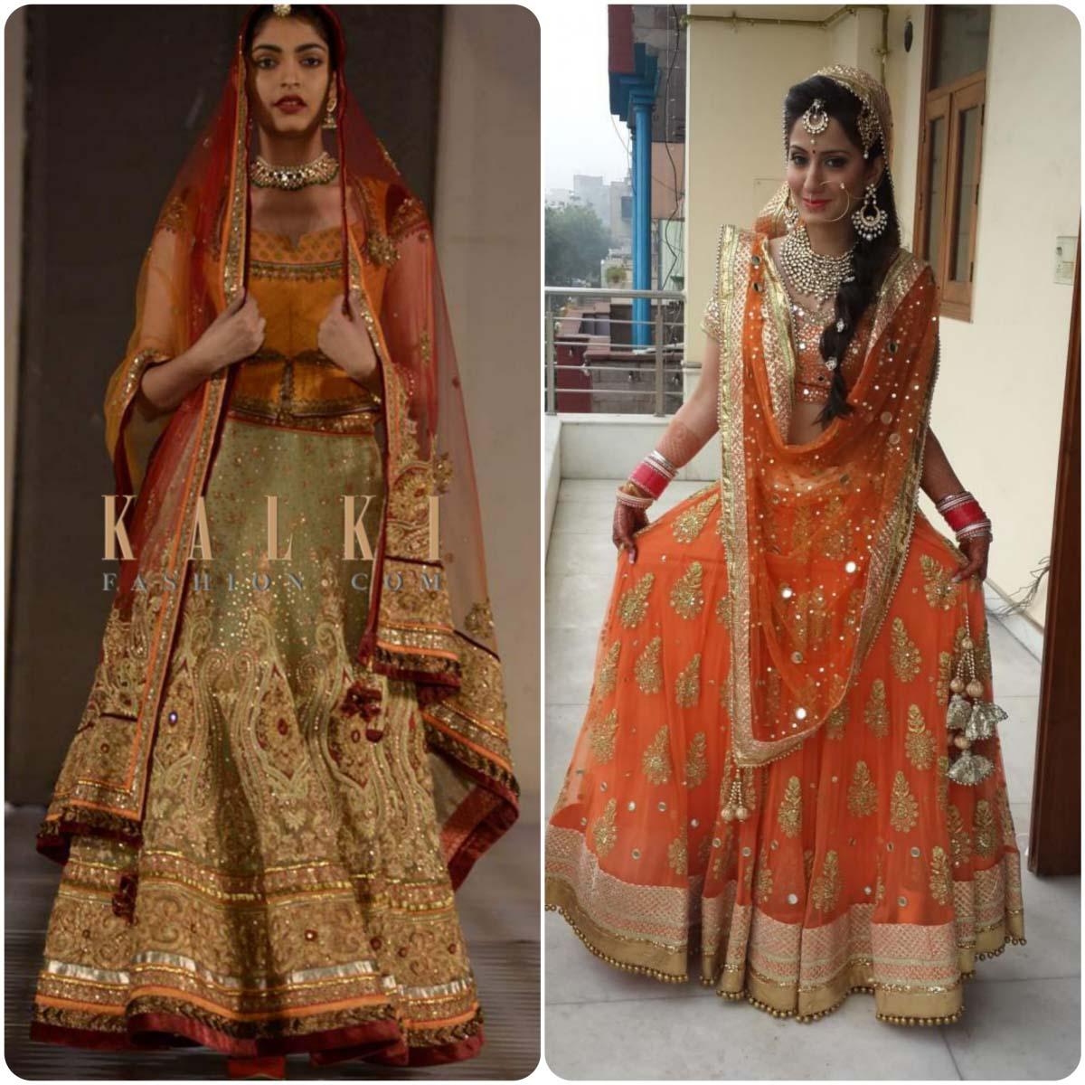 Indian Ghagra Choli Designs (4)
