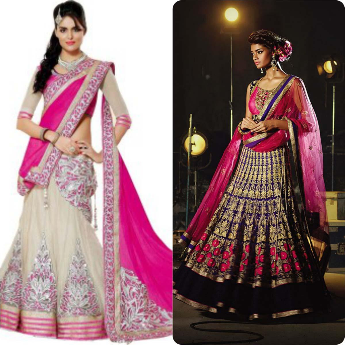 Indian Ghagra Choli Designs