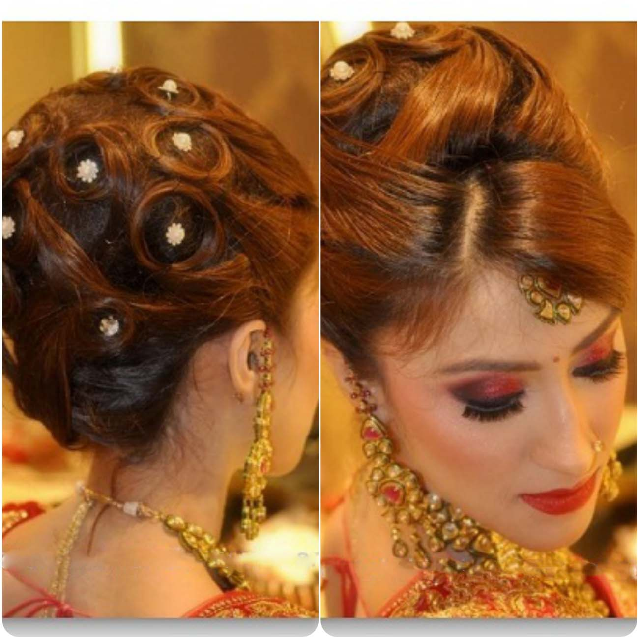 Indian Wedding Hairstyles For Brides 2016