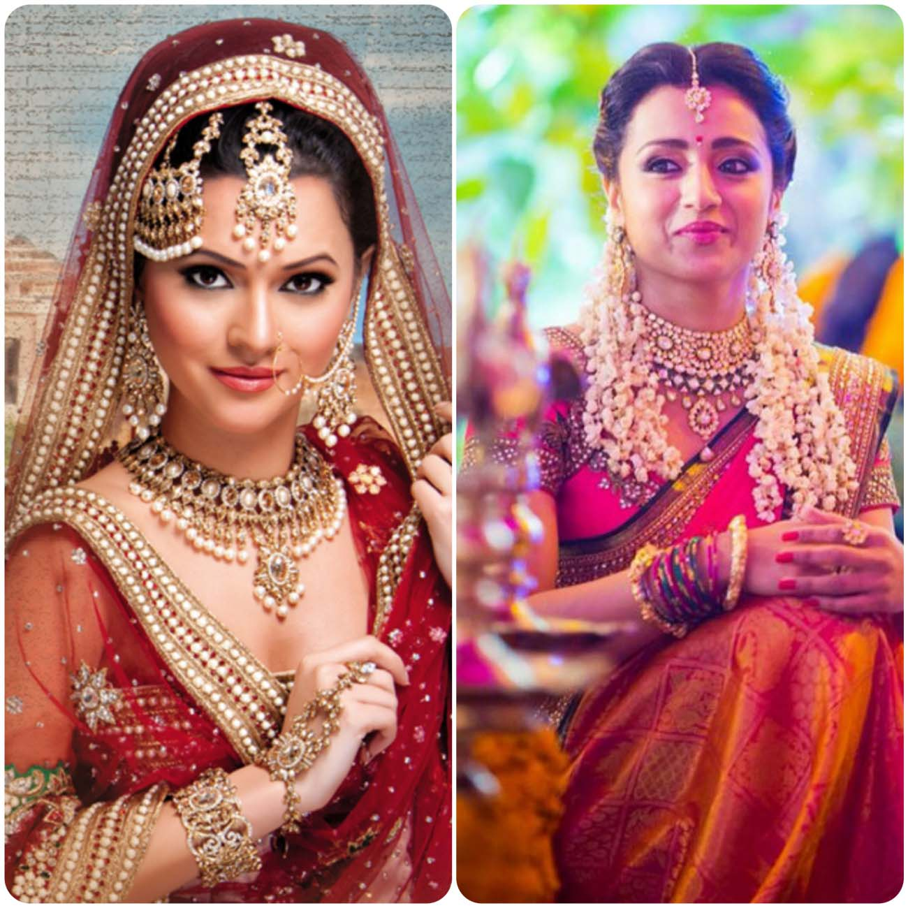 Indian Wedding Hairstyles For Brides 2016...styloplanet (15)