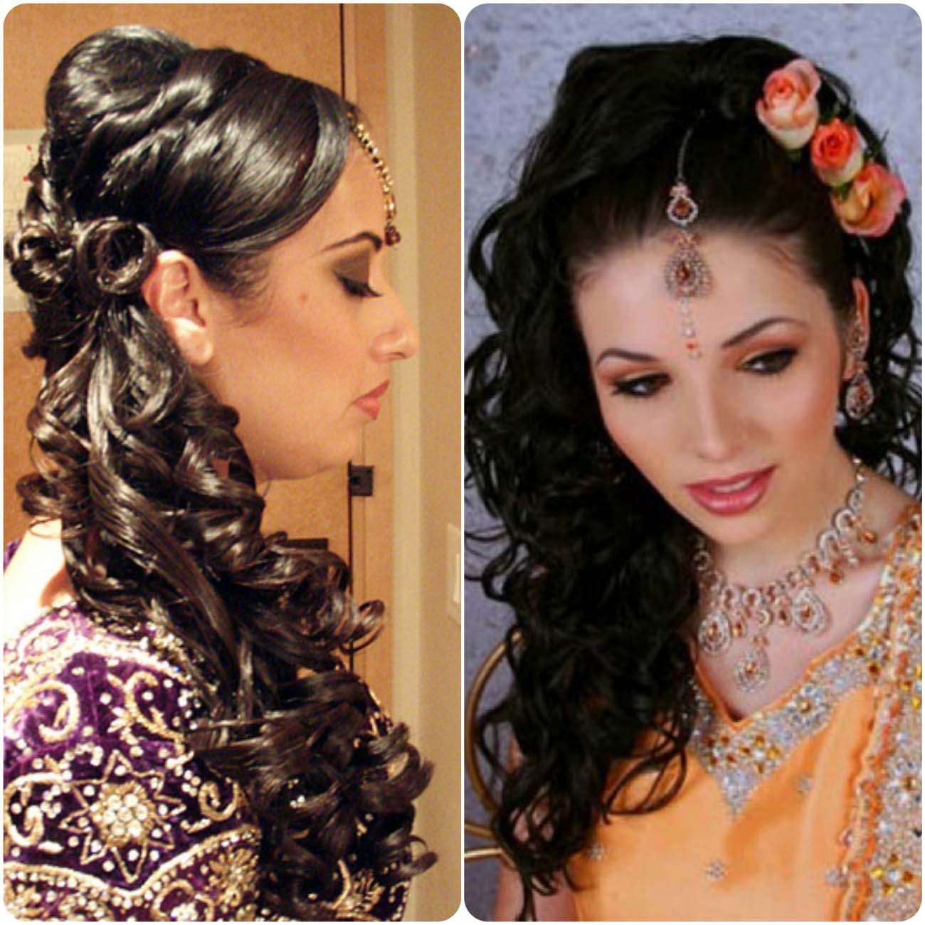 Indian Wedding Hairstyles For Brides 2016...styloplanet (19)