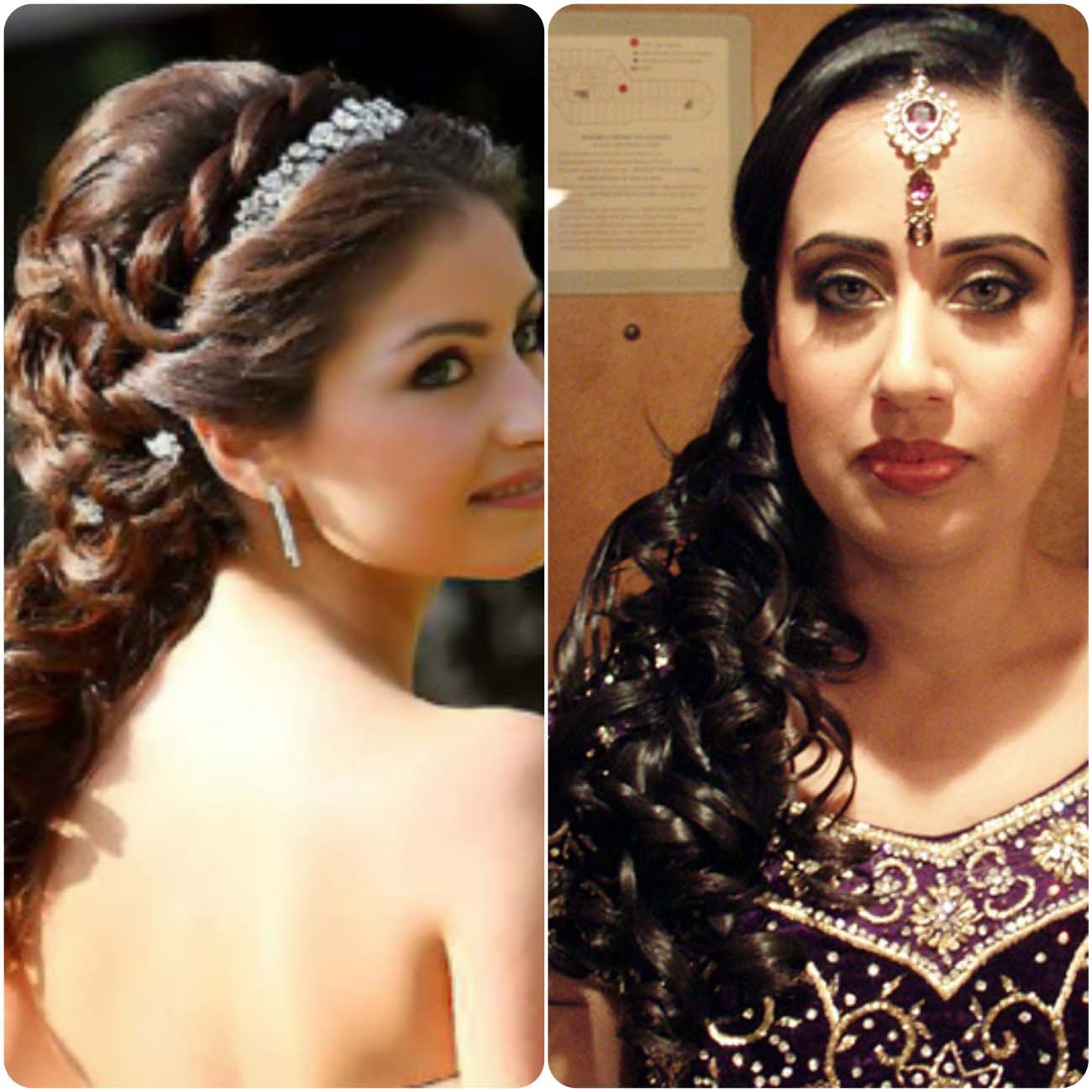 Indian Wedding Hairstyles For Brides 2016...styloplanet (8)