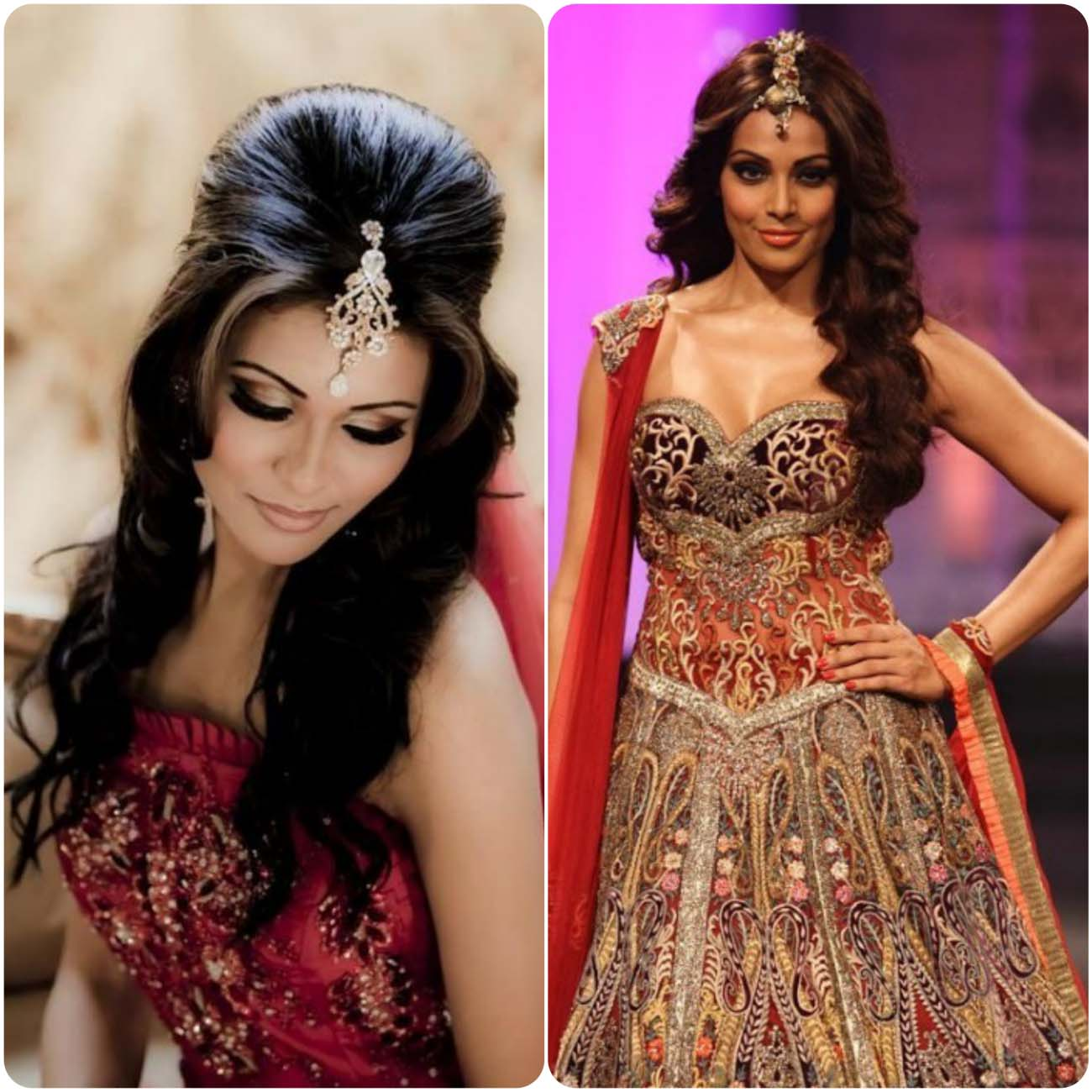 Indian Wedding Hairstyles For Brides 2016...styloplanet (9)