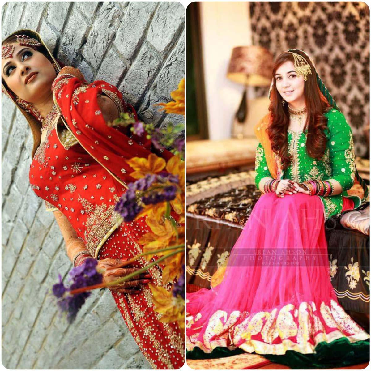 Latest Pakistani Ghagra Choli Styles (11)