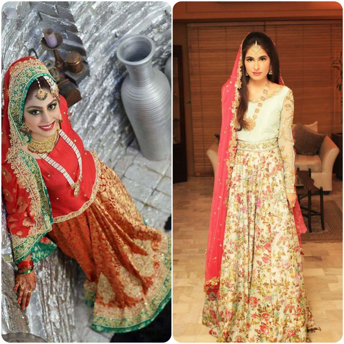 Latest Pakistani Ghagra Choli Styles (12)