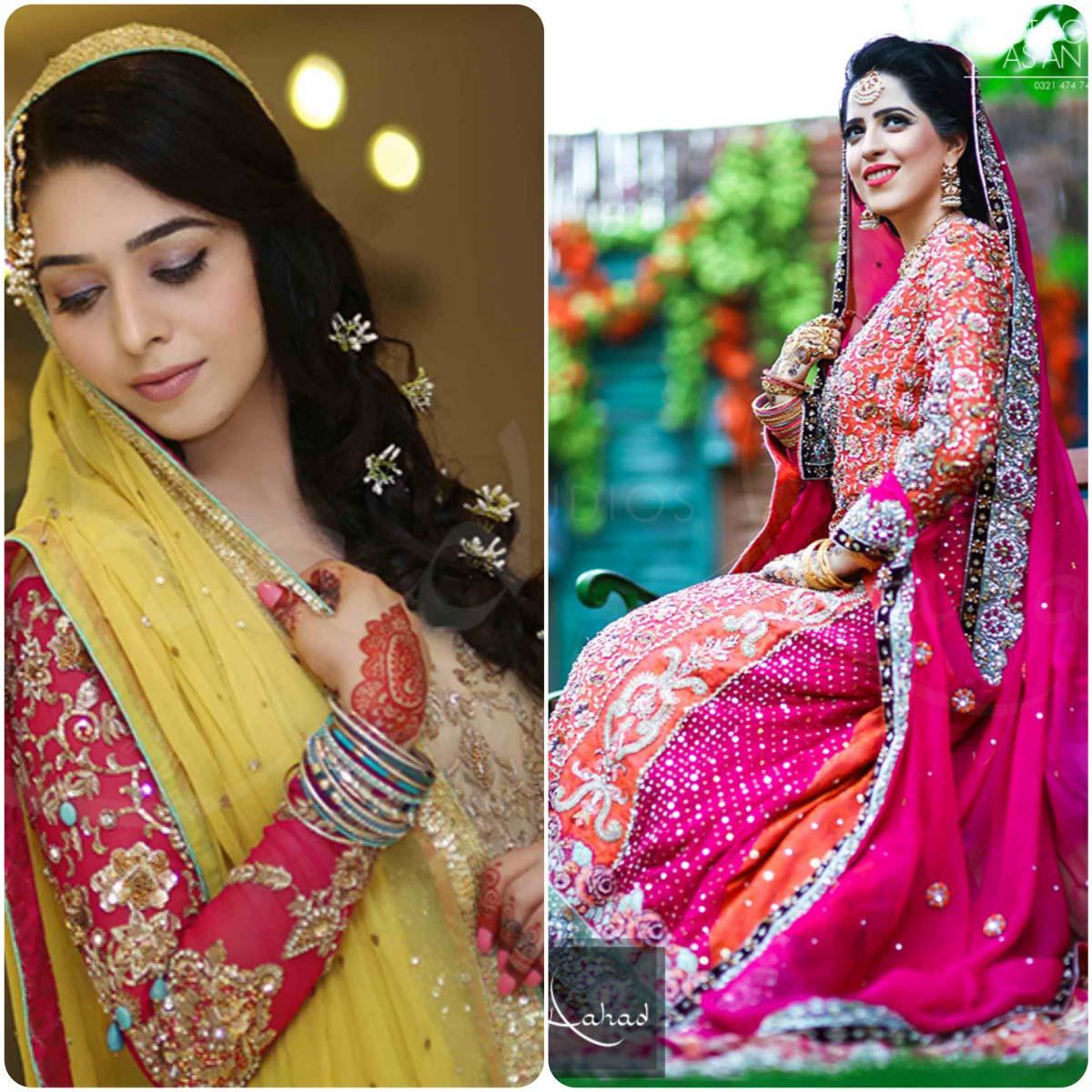 Latest Pakistani Ghagra Choli Styles (5)