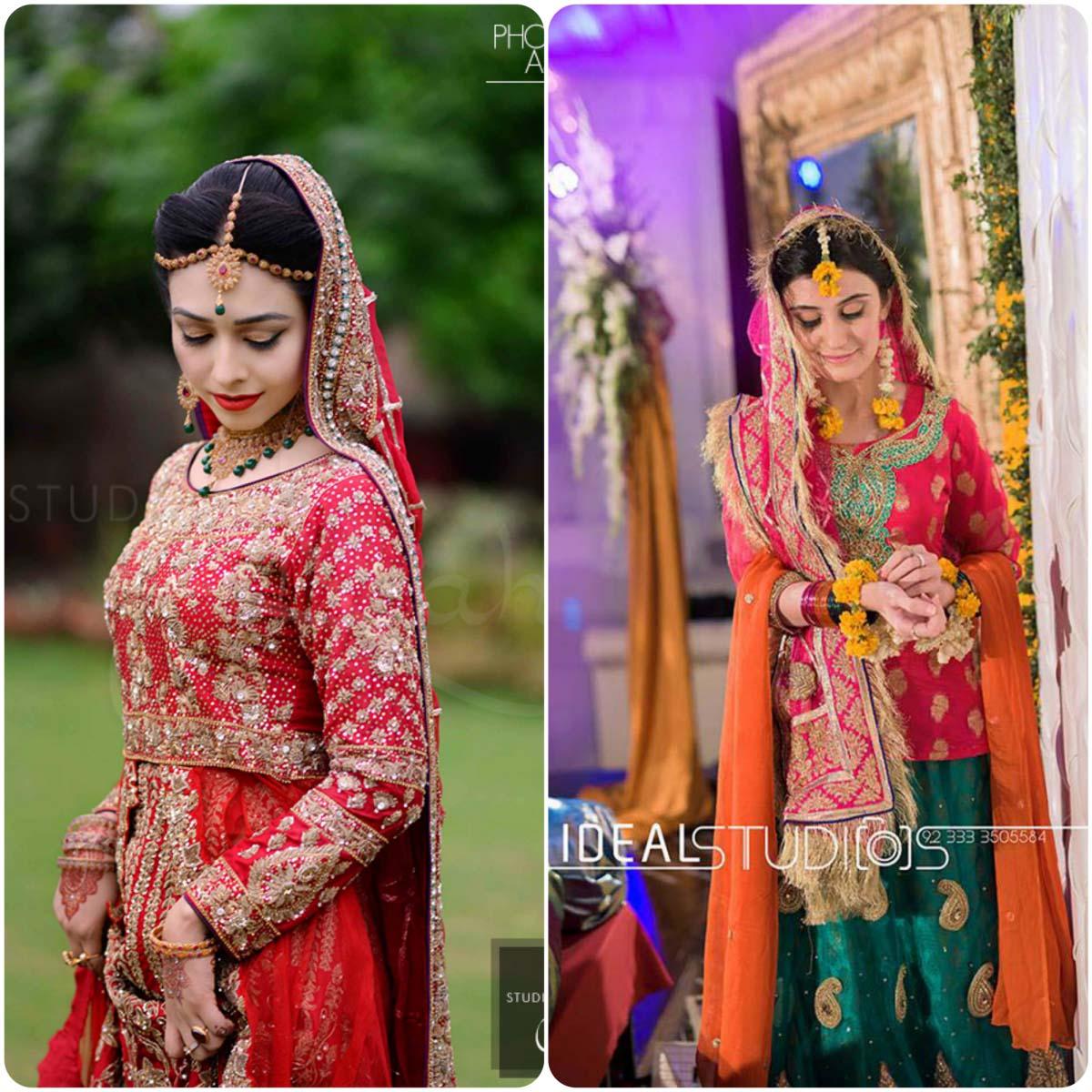 Latest Pakistani Ghagra Choli Styles (9)