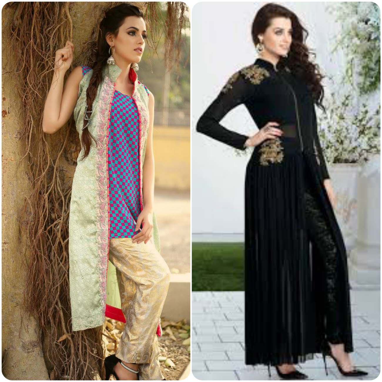 Open Frocks And Double Shirt Dresses Collection 2016-2017...styloplanet (12)
