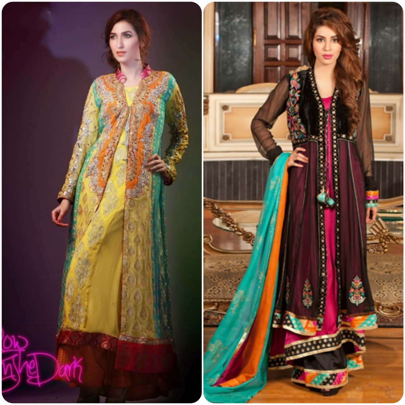 Open Frocks And Double Shirt Dresses Collection 2016-2017...styloplanet (15)