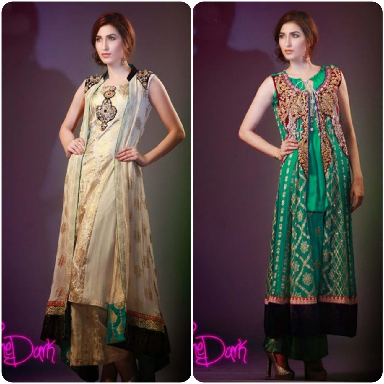 Open Frocks And Double Shirt Dresses Collection 2016-2017...styloplanet (17)