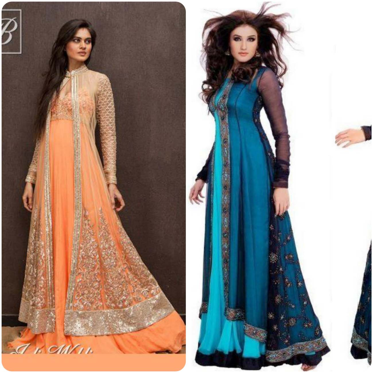Open Frocks And Double Shirt Dresses Collection 2016-2017...styloplanet (2)