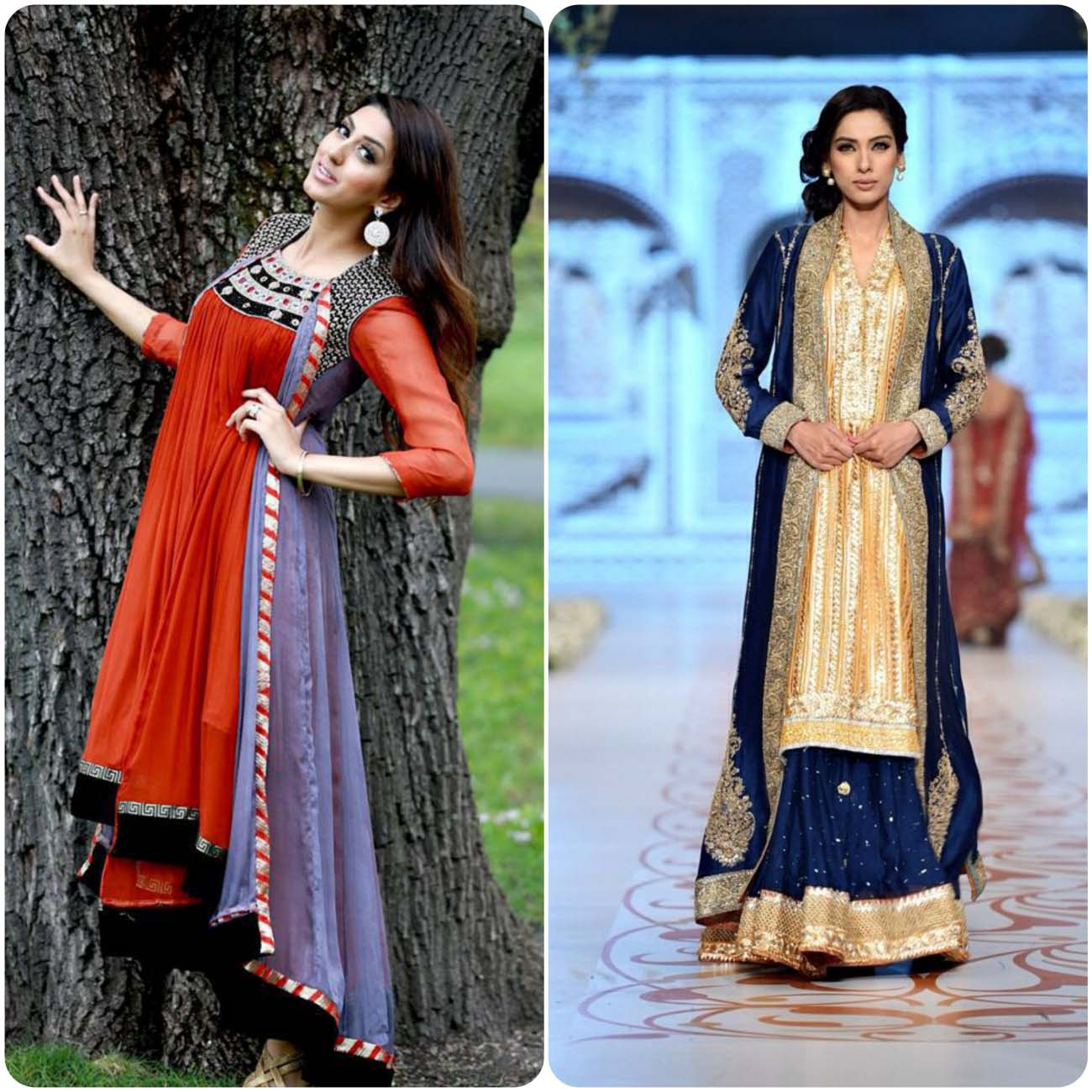 Open Frocks And Double Shirt Dresses Collection 2016-2017...styloplanet (20)
