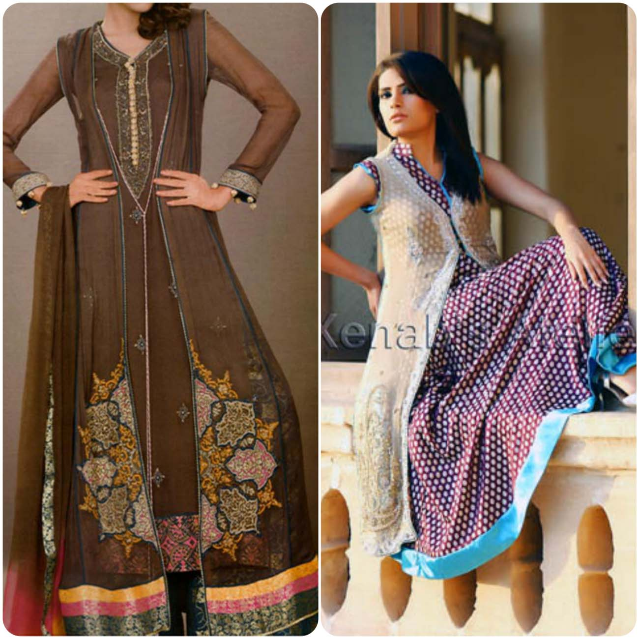 Open Frocks And Double Shirt Dresses Collection 2016-2017...styloplanet (24)