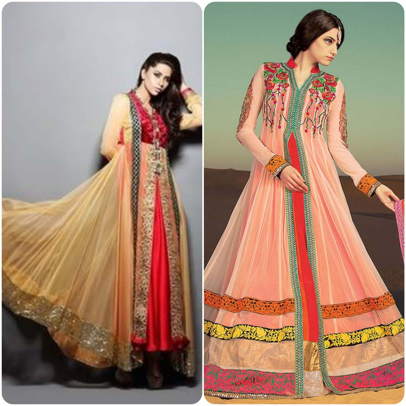 Open Frocks And Double Shirt Dresses Collection 2016-2017...styloplanet (25)