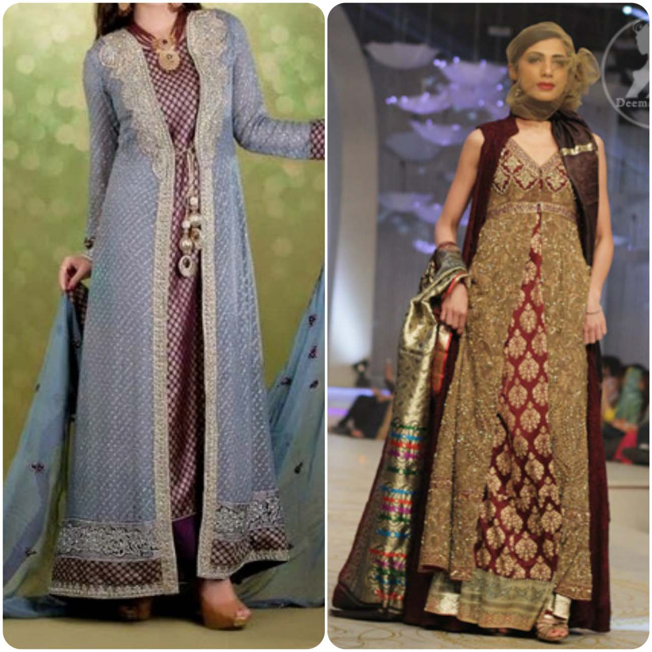 Open Frocks And Double Shirt Dresses Collection 2016-2017...styloplanet (4)