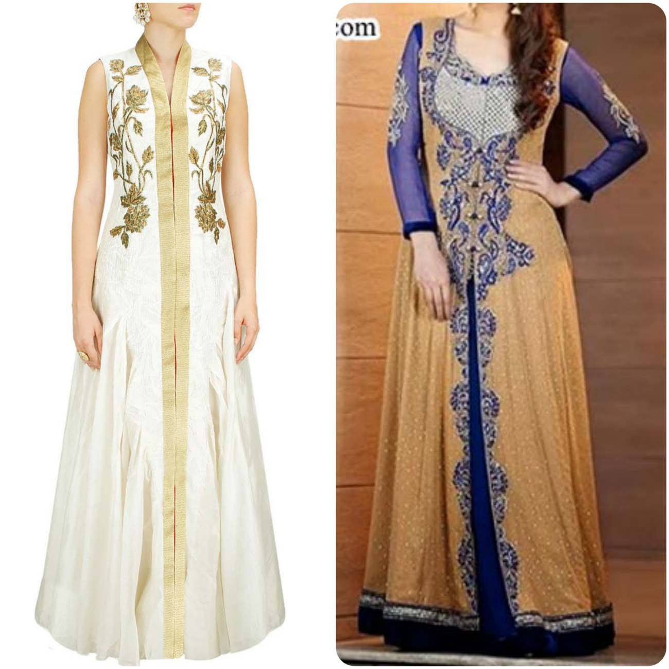 Open Frocks And Double Shirt Dresses Collection 2016-2017...styloplanet (7)